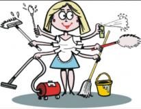 Collaboratrice domestica-pulizie.